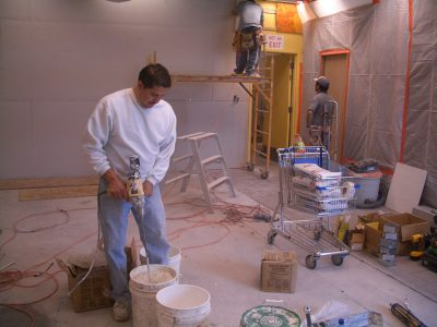 Mixing Drywall Mud